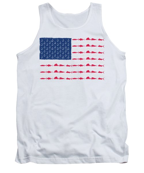 Fish Offshore Usa Tank Top