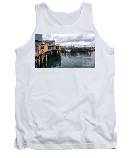 Tank Top featuring the photograph Fisherman's Wharf Monterey II by Gina Savage