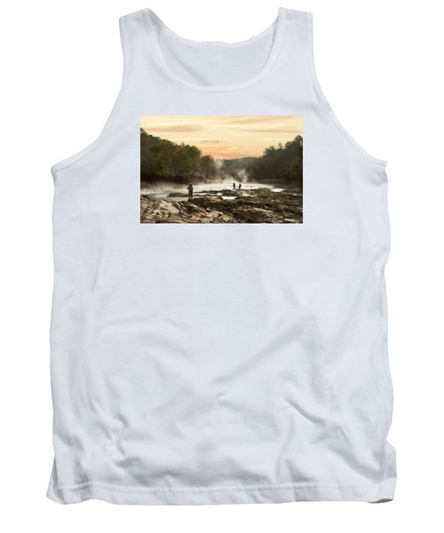 Fishing In The Mist Tank Top