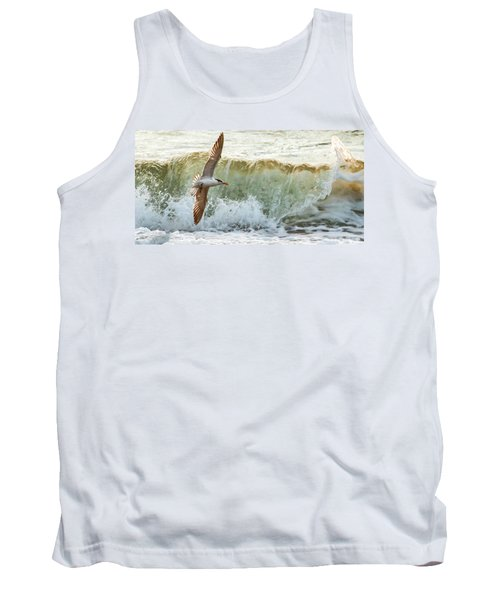 Fishing The Surf Tank Top