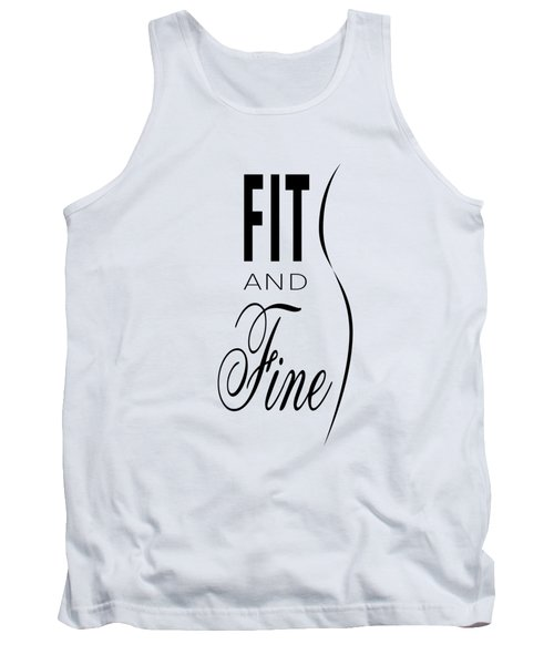 Fit And Fine Tank Top