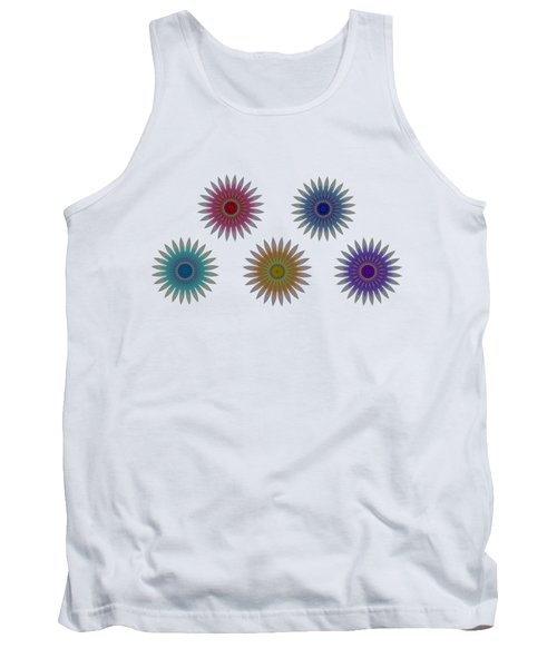 Five Flowers Tank Top