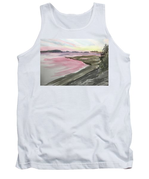 Five Islands - Watercolor Sketch  Tank Top by Joel Deutsch