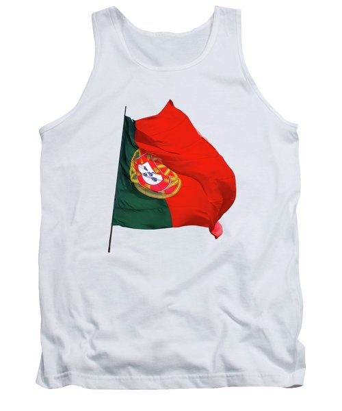 Flag Of Portugal Tank Top