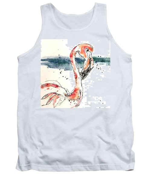 Flamingo Pool Tank Top