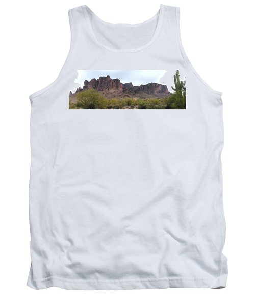 Flatiron Of The Superstition Mountains Tank Top