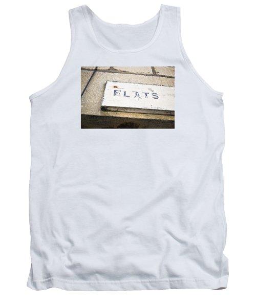 Flats Sign Tank Top