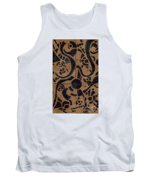 Flipside 1 Panel D Tank Top by Joseph A Langley