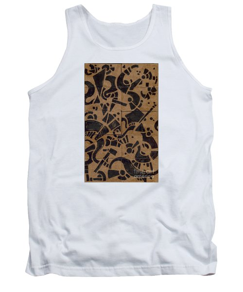 Flipside 1 Panel E Tank Top by Joseph A Langley