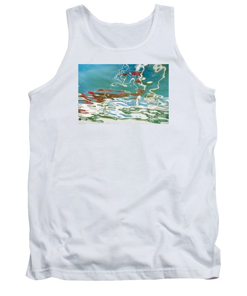 Floating On Blue 35 Tank Top by Wendy Wilton