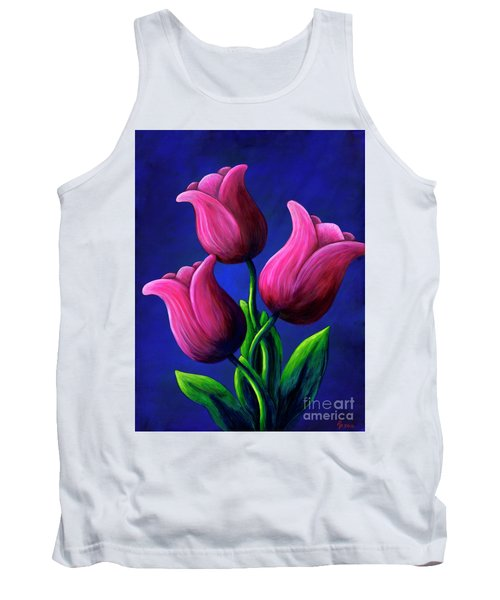 Floating Tulips Tank Top