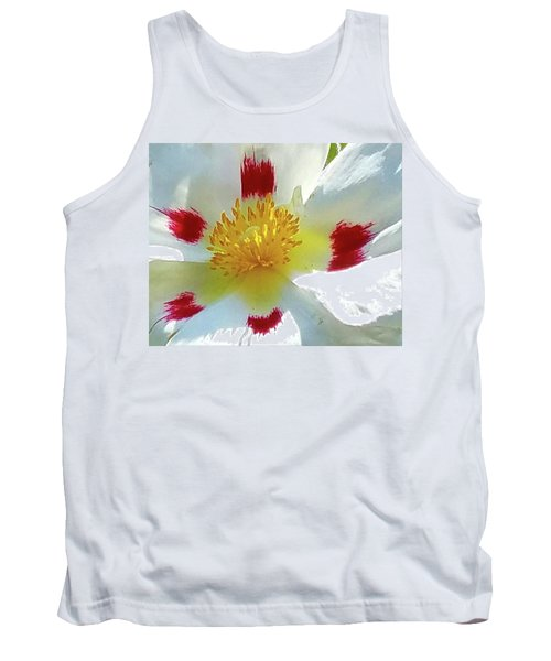 Floral Impressions Tank Top