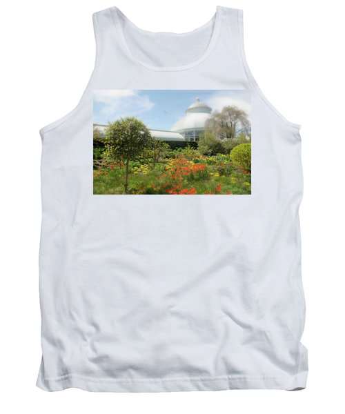 Tank Top featuring the photograph Floral Notes by Diana Angstadt
