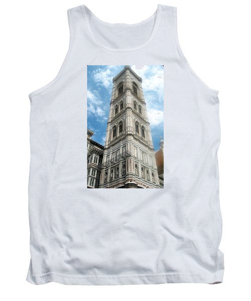 Florence Duomo Tower Tank Top by Lisa Boyd