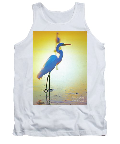 Florida Atlantic Beach Ocean Birds  Tank Top