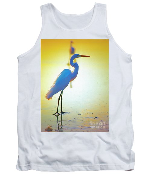Florida Atlantic Beach Ocean Birds  Tank Top