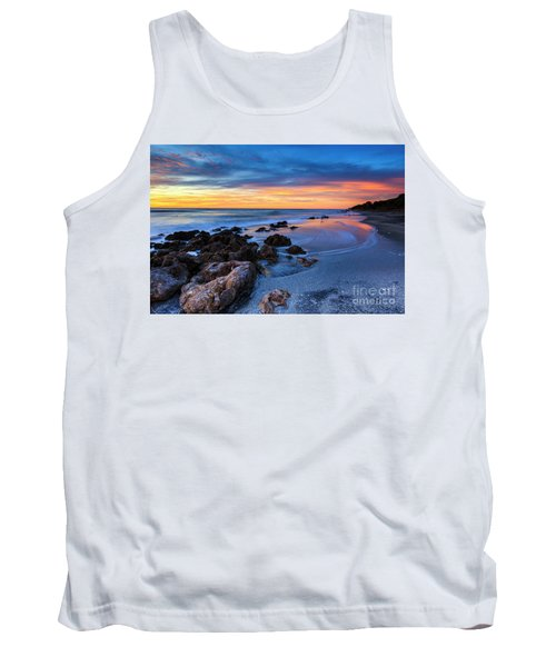 Florida Beach Sunset 3 Tank Top