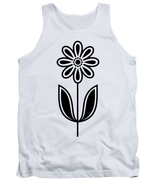 Flower 1 Transparent Tank Top