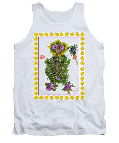 Flower Baby Tank Top by Lise Winne