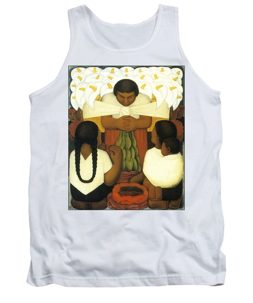 Flower Day Tank Top