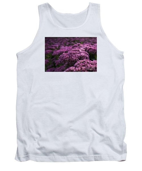 Tank Top featuring the photograph Sedum Flower Detail by Inge Riis McDonald