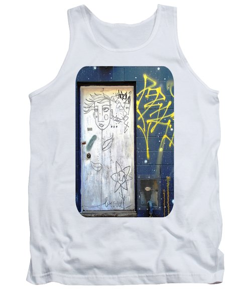 Flower Faces Tank Top