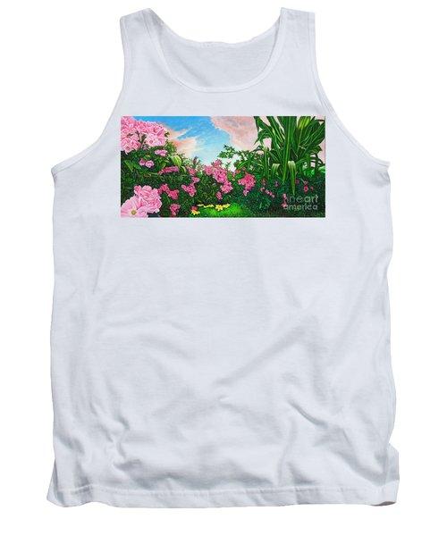 Flower Garden Xi Tank Top