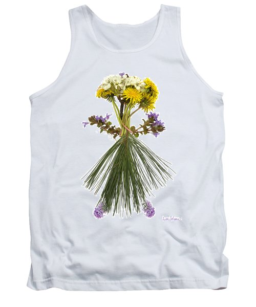 Flower Head Tank Top