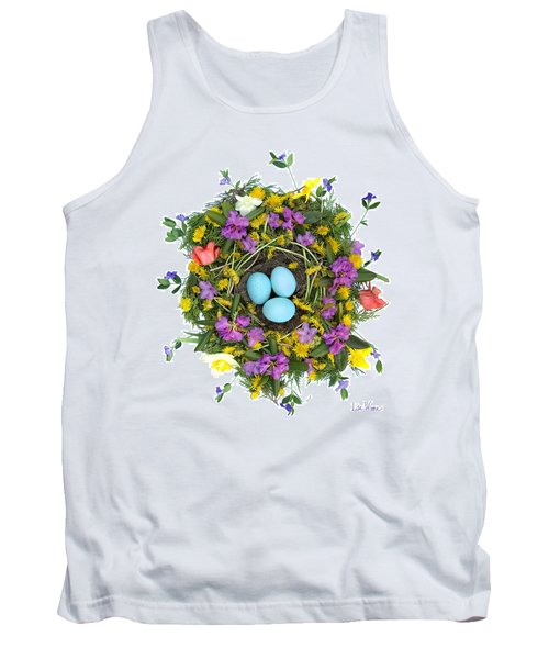 Flower Nest Tank Top by Lise Winne