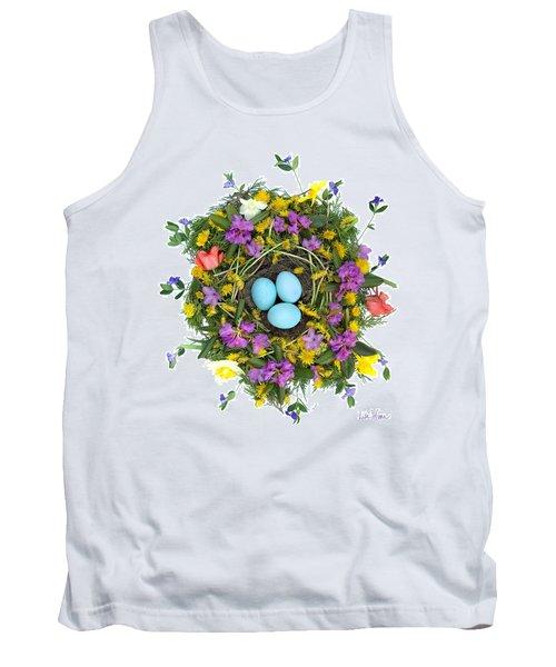 Flower Nest Tank Top