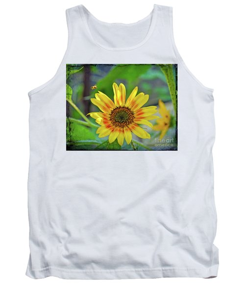 Tank Top featuring the photograph Flower Of The Sun by Kerri Farley