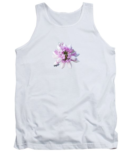 Flower Securigera Varia 2 Tank Top by Mike Breau