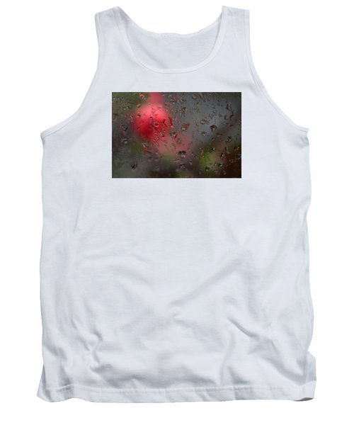 Flower Seen Through The Window Tank Top by Catherine Lau
