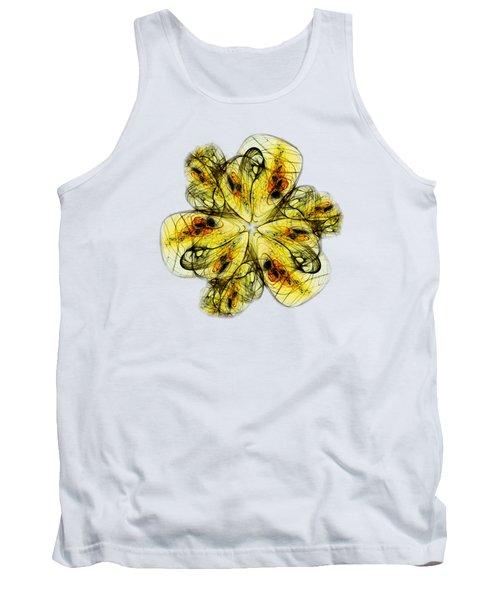 Flower Sketch Tank Top