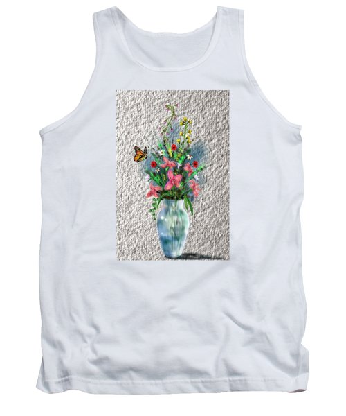 Flower Study Three Tank Top by Darren Cannell