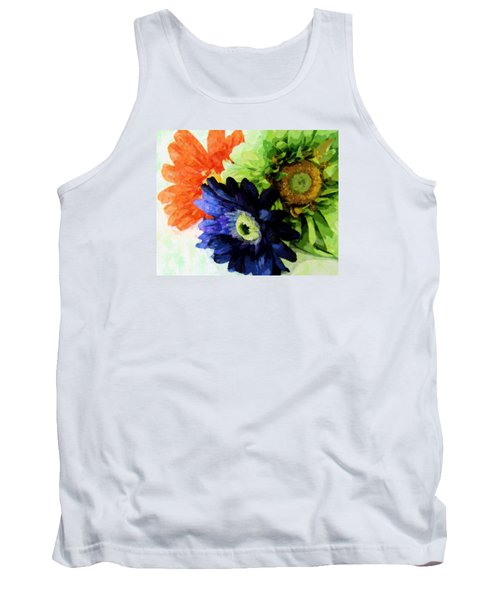 Flower X Three Tank Top