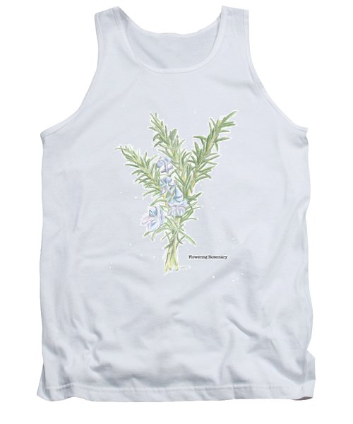 Flowering Rosemary Tank Top