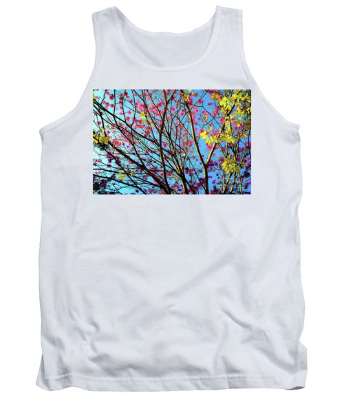Flowers And Trees Tank Top
