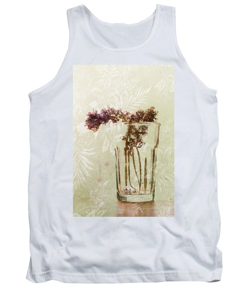 Tank Top featuring the photograph Flowers Drying by Susan Capuano