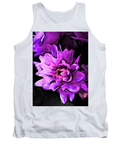 Flowers Of Lavender And Pink 1 Tank Top