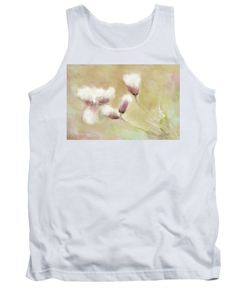 Fluffy Thistle Tank Top