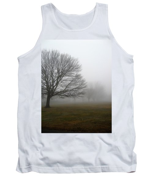 Tank Top featuring the photograph Fog by John Scates