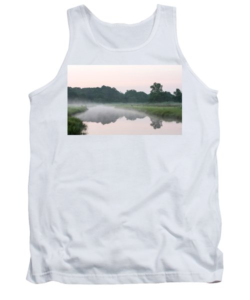 Foggy Morning Reflections Tank Top