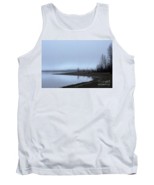 Tank Top featuring the photograph Foggy Water by Victor K