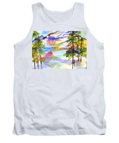 For Love Of Winter #1 Tank Top by Betty M M Wong