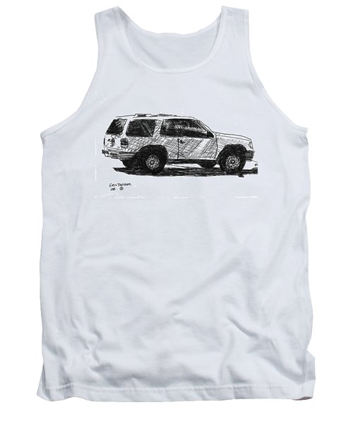 Ford Explorer Tank Top by Eric Tressler