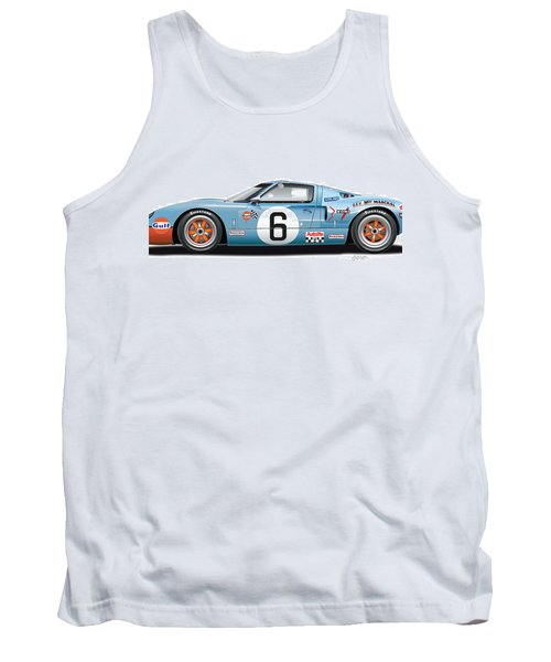 Ford Gt 40 1969 Tank Top