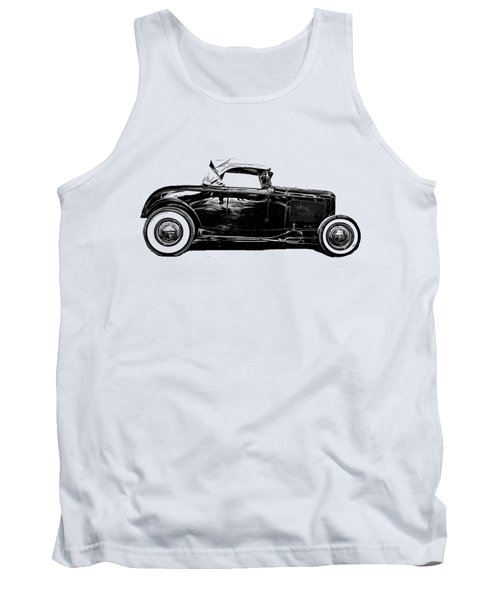 Ford Hot Rod Tee Tank Top