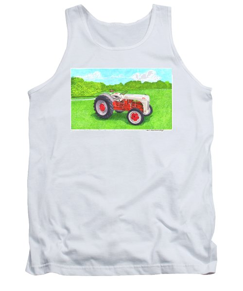 Ford Tractor 1941 Tank Top by Jack Pumphrey