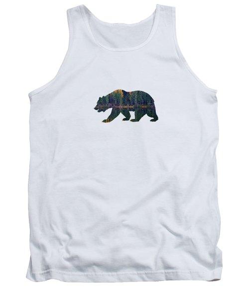 Forest Bear Tank Top